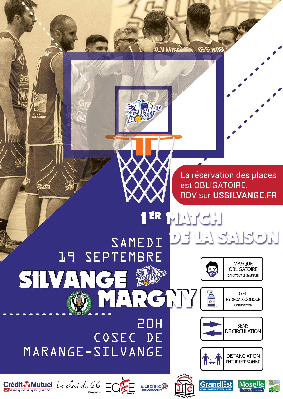 Affiche match Silvange / Margny